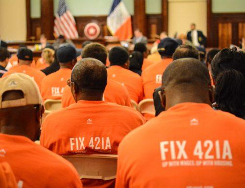 City Council 421a Testimony
